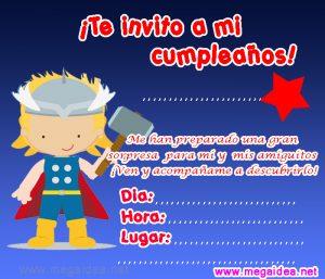 Invitación De Super Héroes Para Imprimir Mega Idea