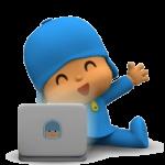 pocoyo laptop
