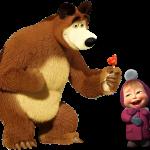 Masha y el oso1 13