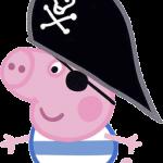 Peppa pig pirata