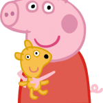 Peppa y osito teddyl
