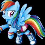 Rainbow Dash My Little Pony 3