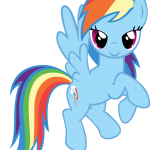 Rainbow Dash My Little Pony 4