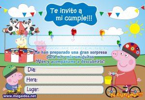 invitaciones peppa pig imprimir01