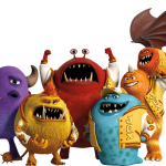 monsters clipart personajes2