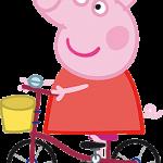 peppa bicicleta