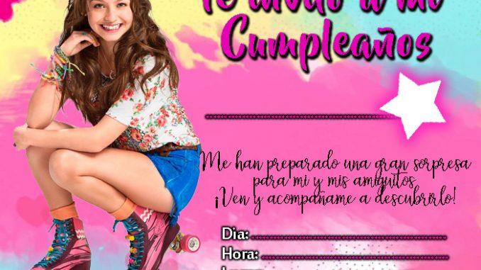 Invitacion De Soy Luna Para Imprimir Mega Idea