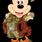Mickey Safari 3 Clipart