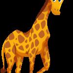 Mickey Safari Girafa