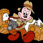 Mickey Safari Maletas