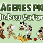 Imágenes de Mickey Safari PNG