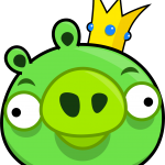 angry birds King Pig 07