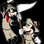 mickey goofy safari