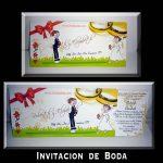 Invitación de Boda Deslizante en Corel Draw
