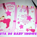 Invitacion Baby Shower para Imprimir en Corel Draw
