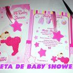 Invitacion Baby Shower para Imprimir en Corel Draw