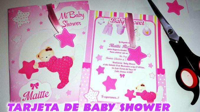 Invitacion Baby Shower Para Imprimir En Corel Draw Mega Idea