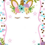 FONDO unicornio invitacion