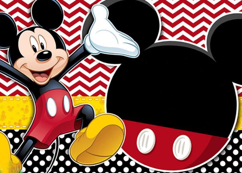 Invitaciones Mickey Mouse Para Imprimir Mega Idea