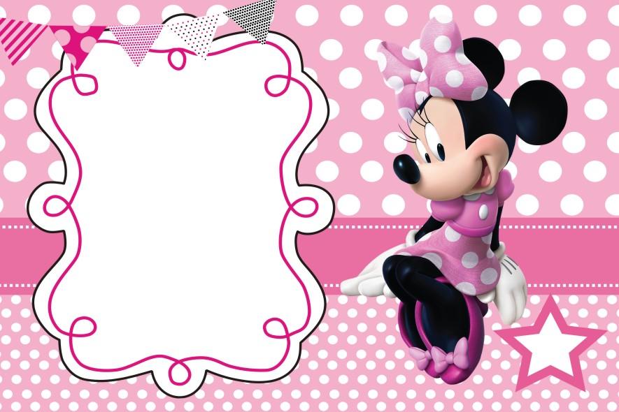 Invitaciones Minnie Mouse Para Imprimir Mega Idea