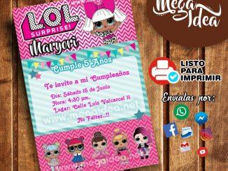 invitacion lol surprise 1