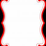 marco invitacion rojo blanco