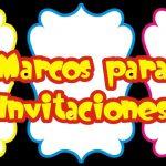 Marcos PNG para Invitaciones