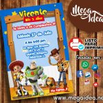 Invitación de Toy Story para Imprimir