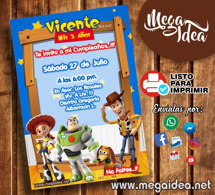 Invitacion Toy Story4