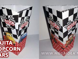 cajita popcorn cars