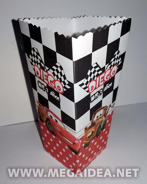 cajita popcorn cars2