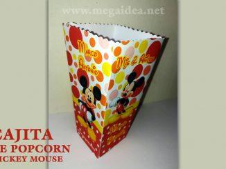 cajita popcorn mickey