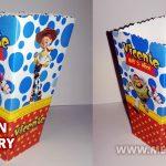 Cajita de Popcorn Toy Story para Imprimir