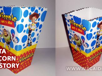 cajita popcorn toy story
