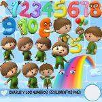 Imagenes PNG de Charlie y los Números Baby TV