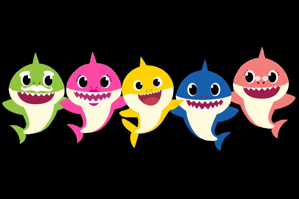 Imagenes PNG de Baby Sharks - Mega Idea