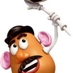 Toy story megaidea cara de papa pelota53