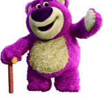 Toy story megaidea oso morado73
