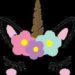 cabeza unicornio