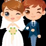dibujos novios para bodas3