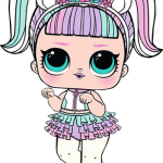 lol girl unicornio