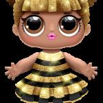 lol surprise Queen Bee serie01 n03 boneca