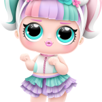 lol surprise Unicorn serie03 n12 boneca