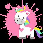 megaidea net unicornio corazones2