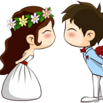 novios boda animado666