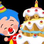 payaso plim plim torta