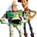 toy story woody buzz clipart
