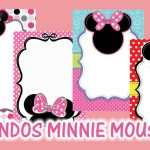 Fondos para Invitaciones de Minnie Mouse