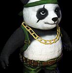 Panda Free Fire Transparente