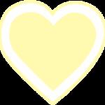 corazon amarillo